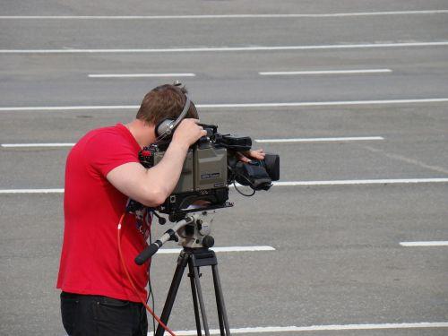 shooting cinematographer movie camera