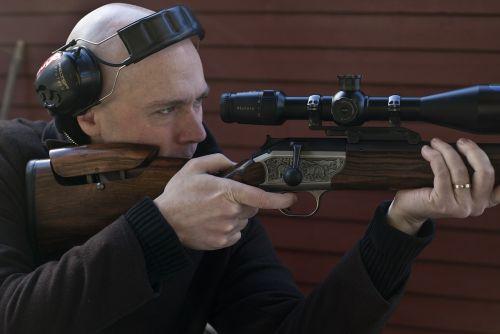 shooting rifle hunting