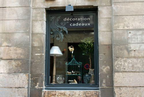 shop window lamp