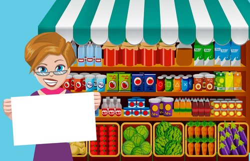 shop  supermarket  grocery
