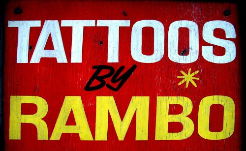 parduotuvės ženklas,tatuiruotės,Mančesterio miestas,miesto,ženklas,reklama,tatuiruotės,dizainas,simbolis,etiketė,apdaila