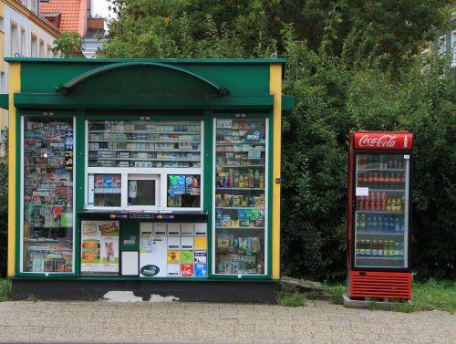 shopping kiosk street vending