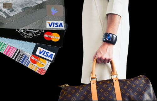 shopping credit card purchasing