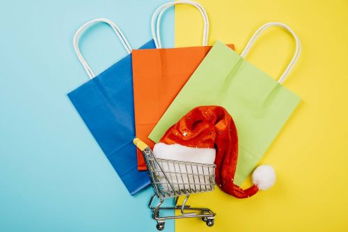shopping paper commercial