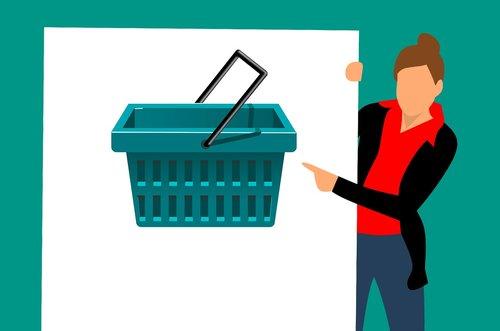 shopping  sale  cart