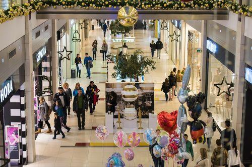 shopping mall center