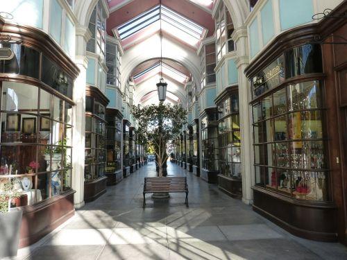 shopping arcade mall shopping