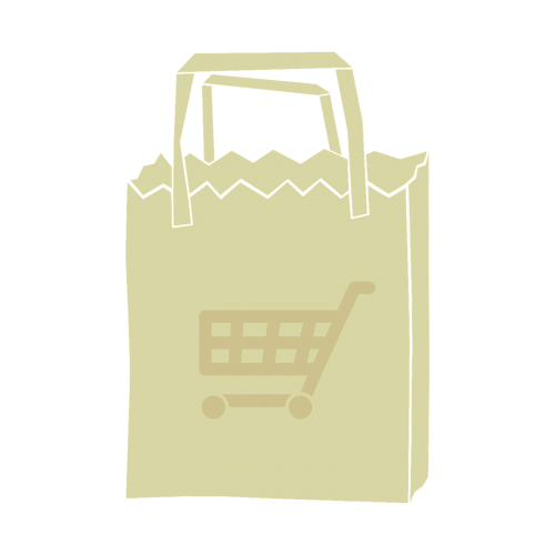shopping bag paper bag