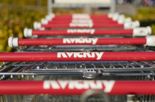 shopping cart groceries shopping
