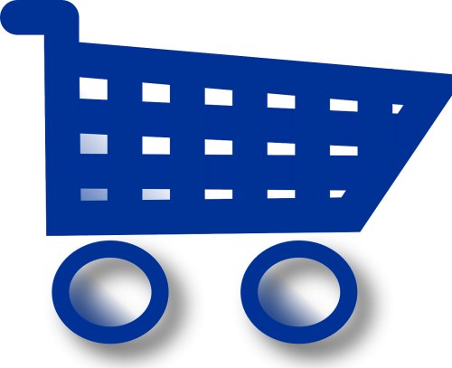 shopping cart supermarket cart