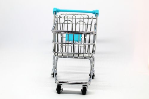shopping cart purchase truck