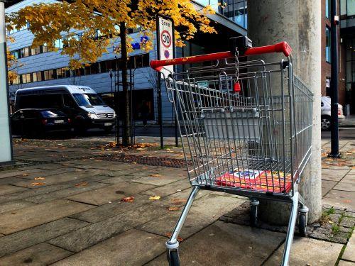 shopping cart city shopping trolley