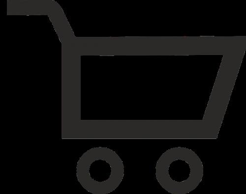 shopping cart shopping buy