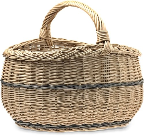 shopping cart  basket wicker  baskets