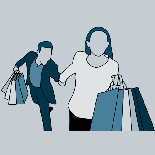 Shopping With Wife