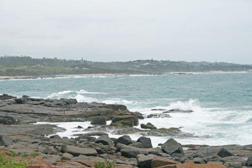 Shoreline With Rocks