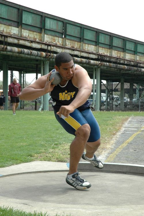 shot putter athlete sport
