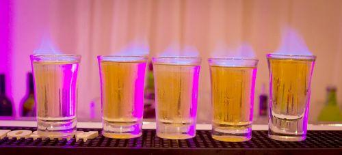 shots alcohol drink