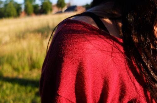 shoulder woman pretty
