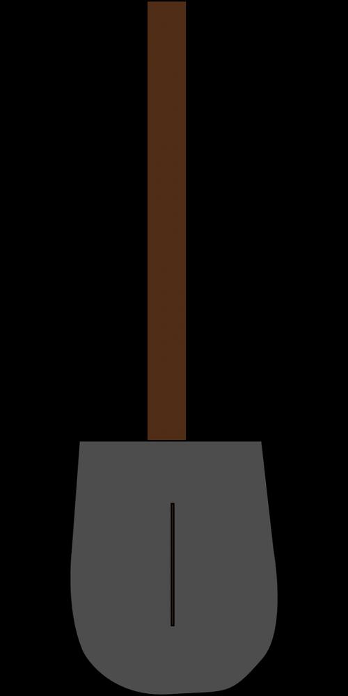 shovel spade digging