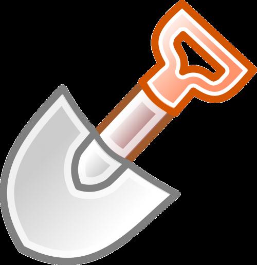 shovel hand tool excavator