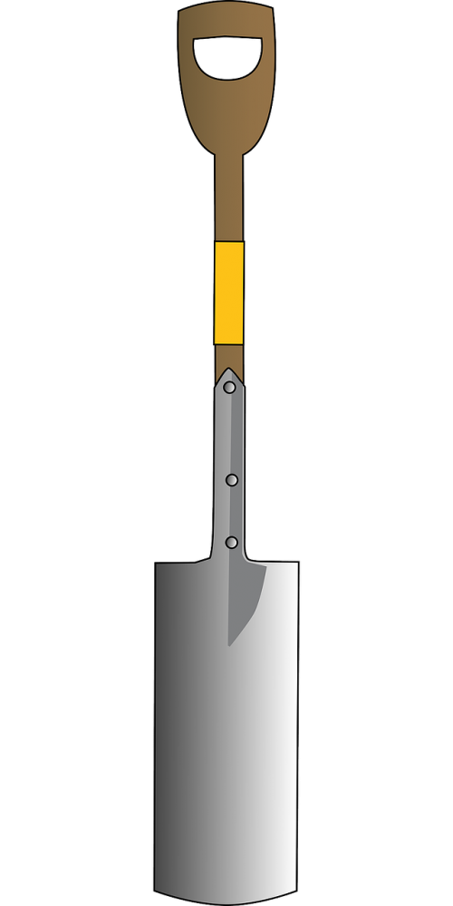 shovel tool arched