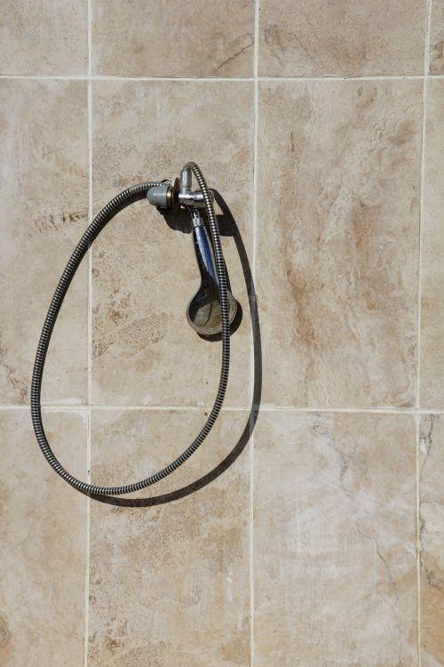 shower tiles shower head