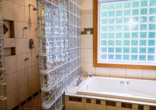 shower tub bathroom