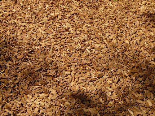 shredded shredder wood