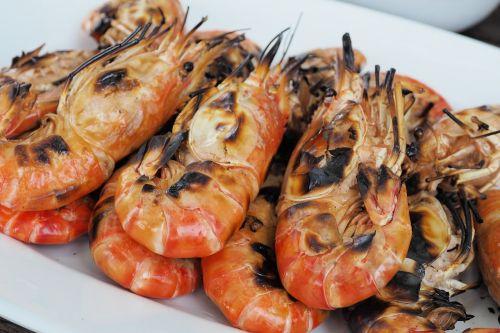 shrimp grilled shrimp food