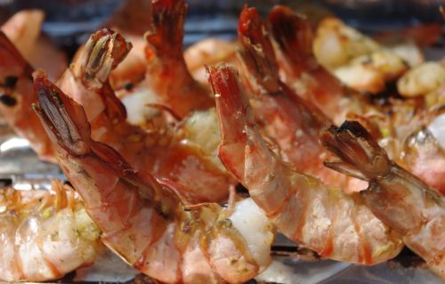 shrimp fish grill