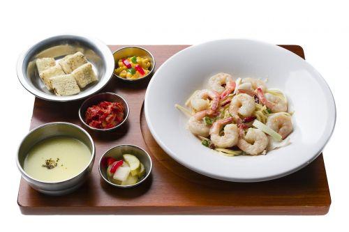 shrimp soup meat