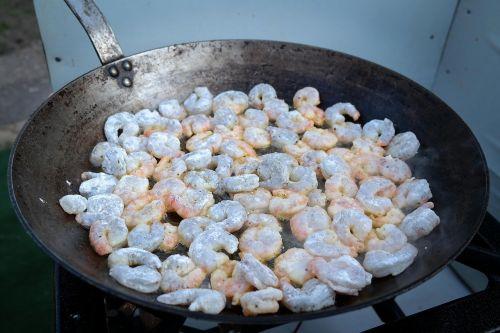 shrimp crabs fry
