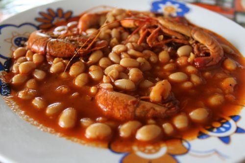 shrimp food typical