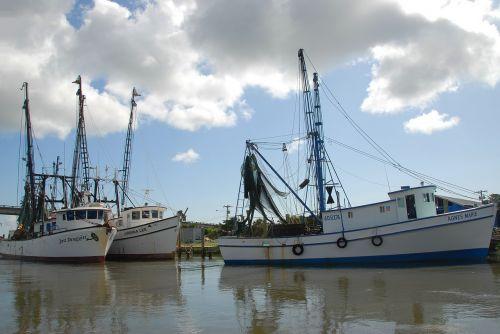 shrimp boat netter nets