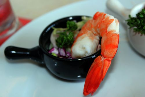 Shrimp On Cup
