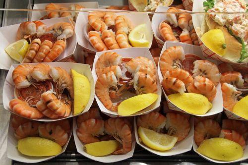 shrimps fresh quincy market