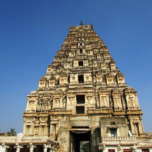 shrine virupaksha temple hampi