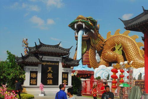 shrine thailand chinese arts