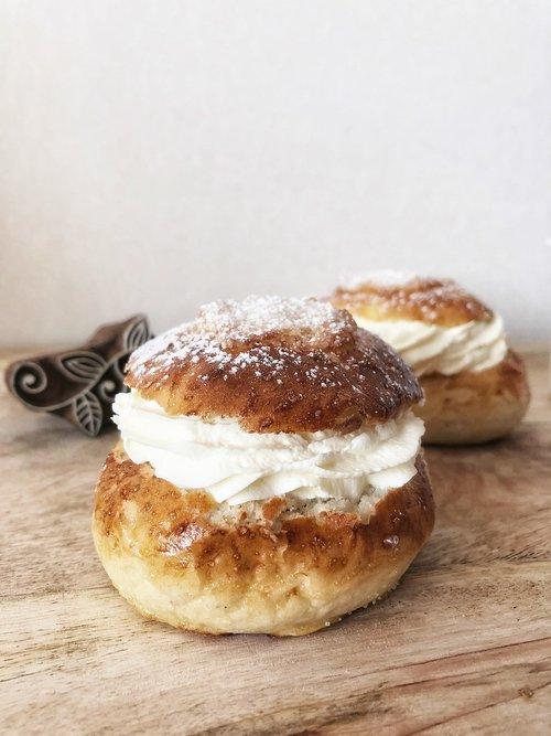 shrove buns  cream bun  bun