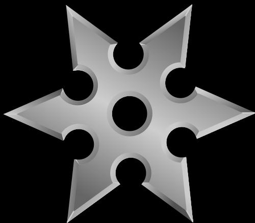 shuriken throwing star ninja star
