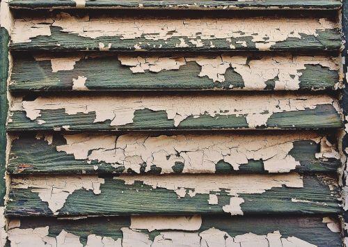 shutter old paint