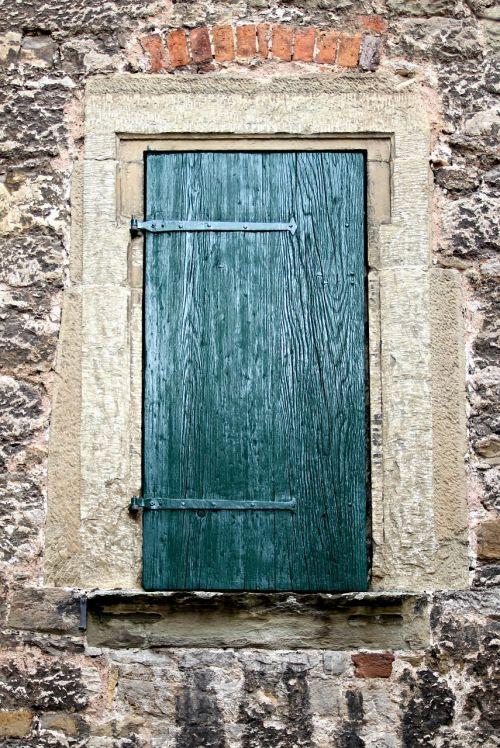 shutter entrance old