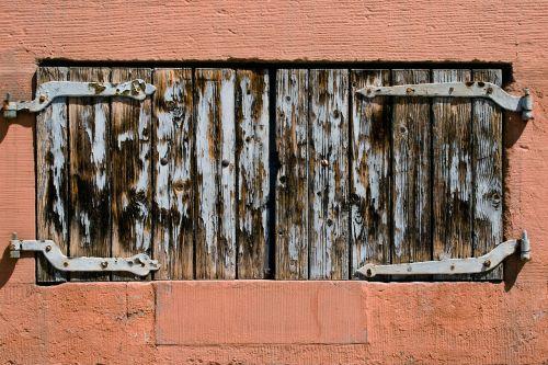 shutters window wooden shutters