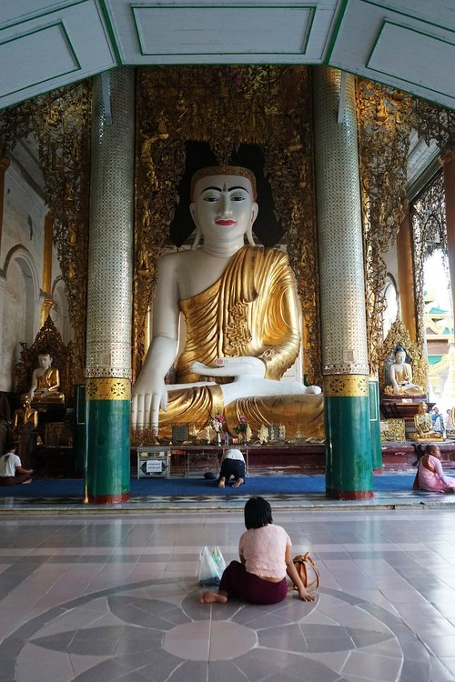 shwedagon  myanmar  asia