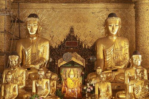 shwedagon  myanmar  pagoda