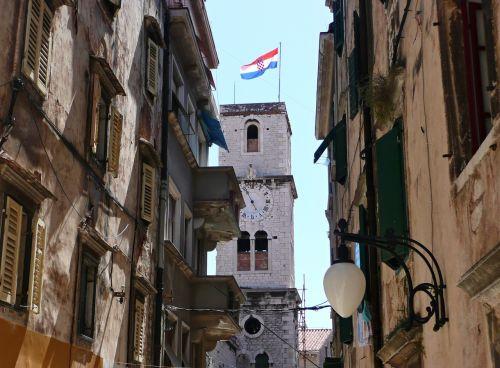 sibenik,kroatija,miestas,istorija,Senamiestis,kroatų miestas,sibeniko miestas,šventė,susipažinti,vasara