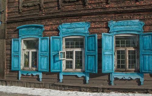 siberia irkutsk wooden houses