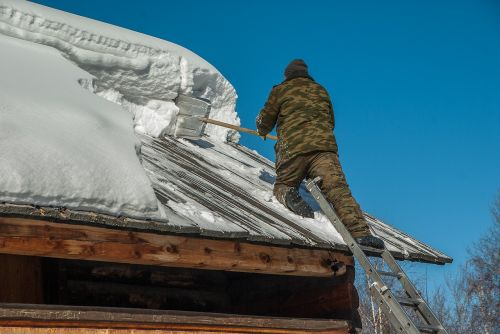 siberia snow removal roofing