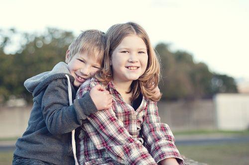 siblings children boy